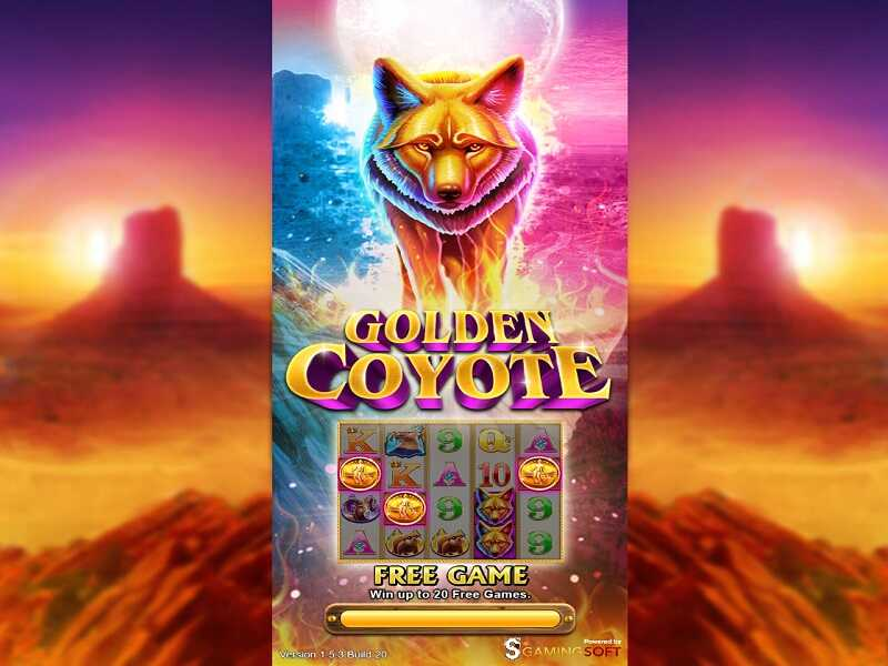 Live22 Slot Golden Coyote