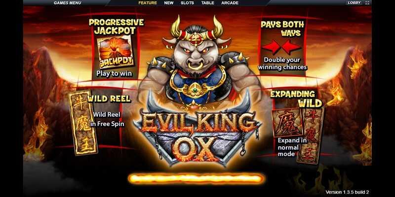 Live22 Slot Evil King OX