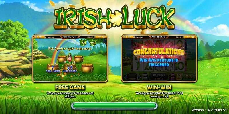 Live22 Slot Irish Luck
