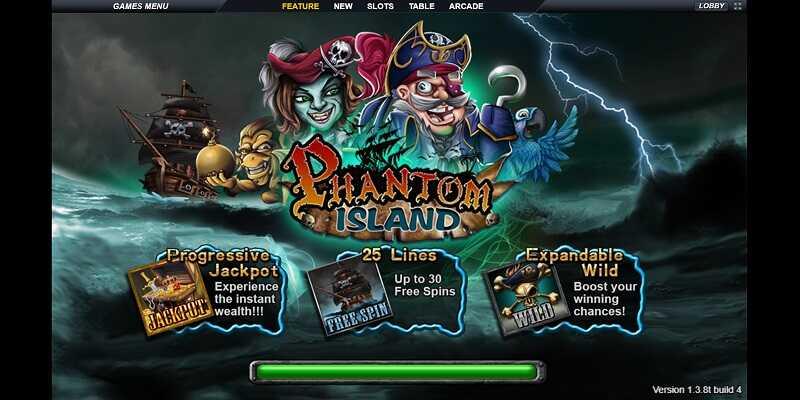 Phantom Island Slot Live22