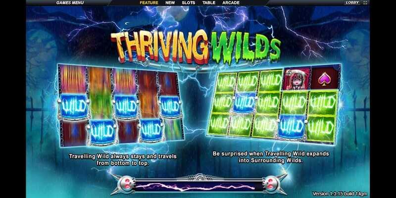 Live22 Slot Thriving Wild