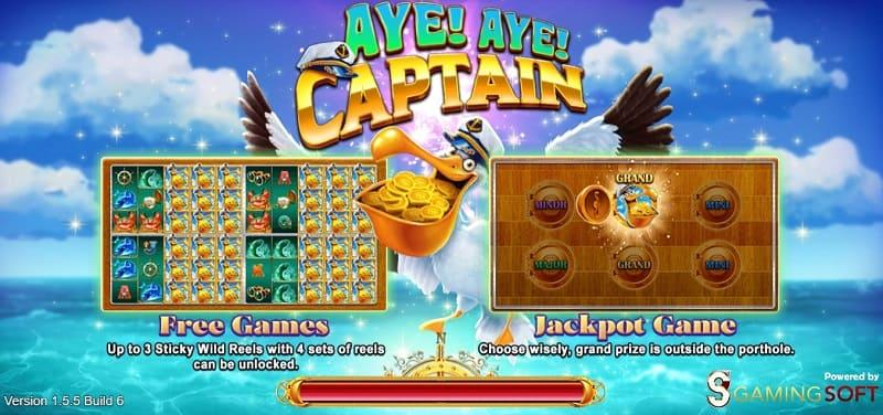 aye aye captain live22 slot