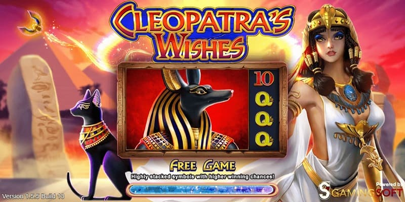 cleopatra's wishes live22 slot