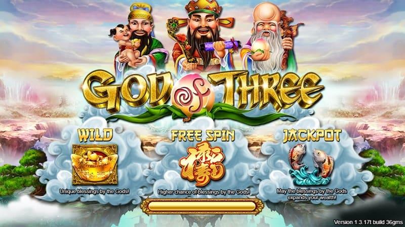 god of three live22