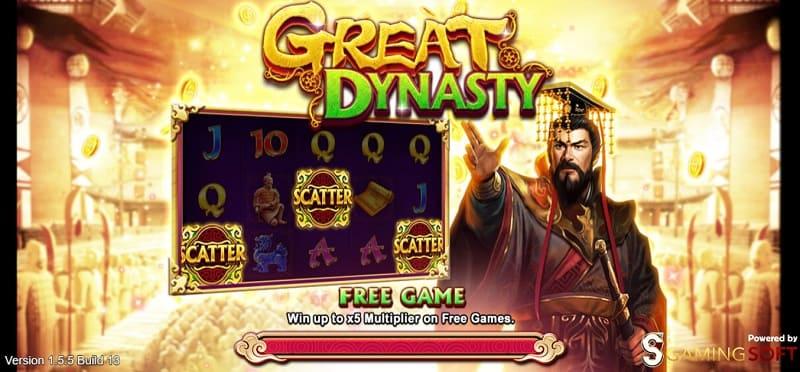 great dynasty live22 slot