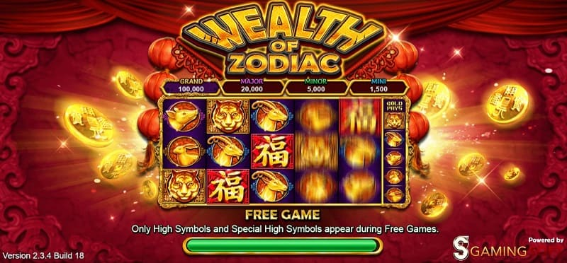 wealth of zodiac live22 slotgames