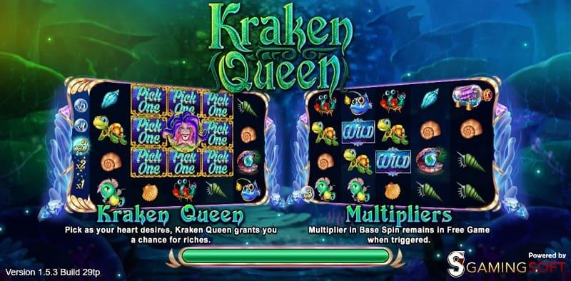 kraken queen live22 สล็อต