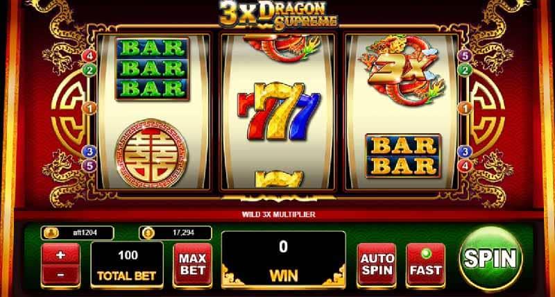3x Dragon Supreme live22 สล็อต