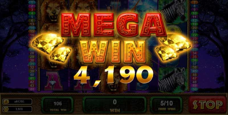 wilds of africa slot live22
