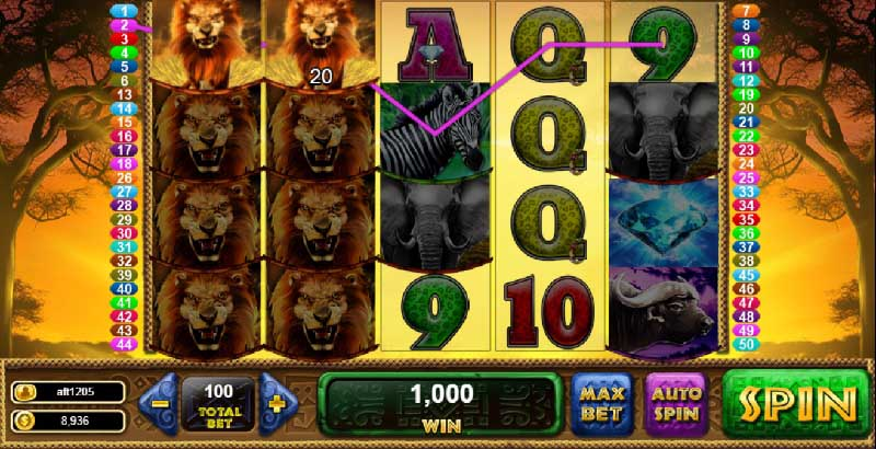 live22 slot wilds of africa