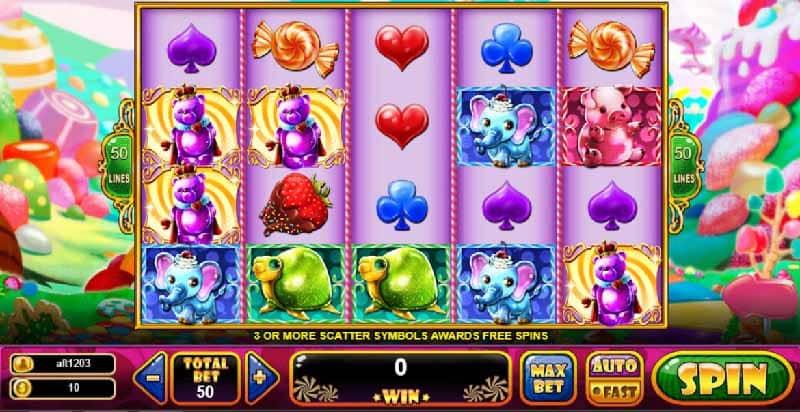Gummy Wonderland slot live22