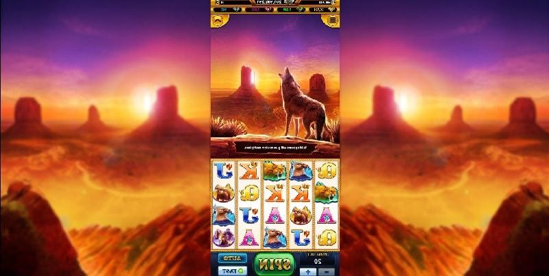 goldeb coyote live22 slot