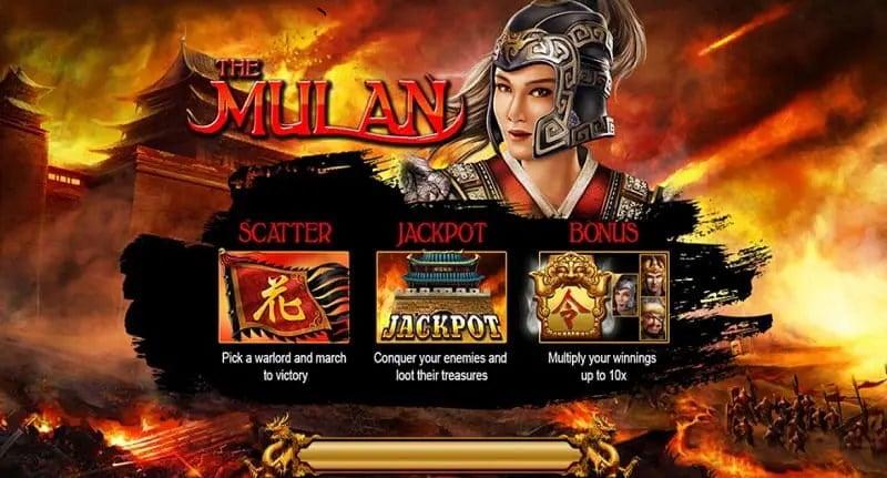 the Mulan live22 slot